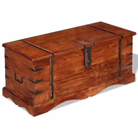 Storage Chest Solid Wood