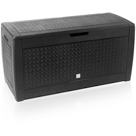 """main image of """"Garden Storage Box Utility Chest Cushion Shed Plastic Large Outdoor Garden Trunk"""""""