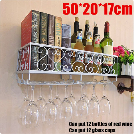 Storage Organizer Rack Bar Wine Racks 50 * 20 * 17cm