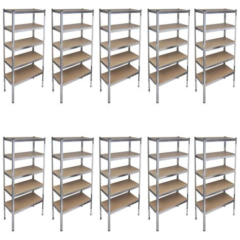 Storage Rack Garage Storage Shelf 10pcs
