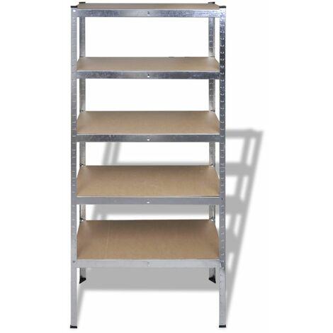Storage Rack Garage Storage Shelf 10pcs QAH14740