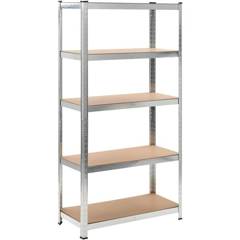 Storage Shelf Garage Storage Organizer - Brown