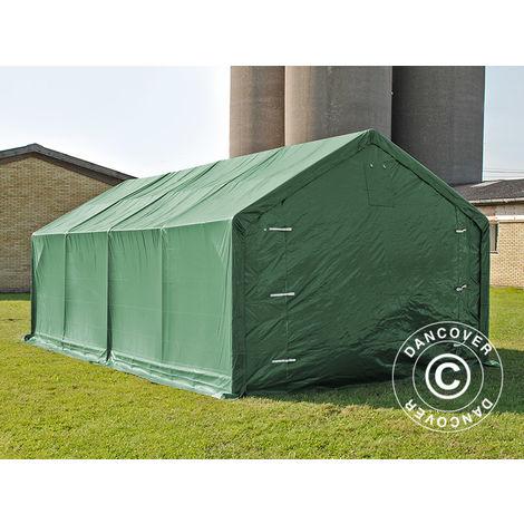 Storage shelter Storage tent PRO 4x8x2x3.1 m, PVC, Green