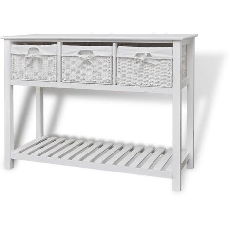 Storage Sideboard White