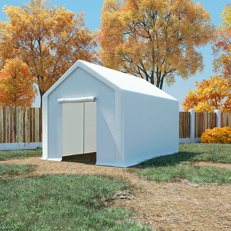 Storage Tent PE 3x6 m White