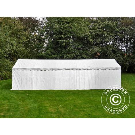Storage Tent Portable garage Basic 2-in-1, 6x12 m PE, White