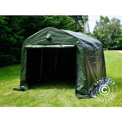 Storage tent Portable garage PRO 2.4x2.4x2 m PE, Green