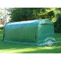 Storage tent Portable garage PRO 2.4x6x2.34 m PVC, Green