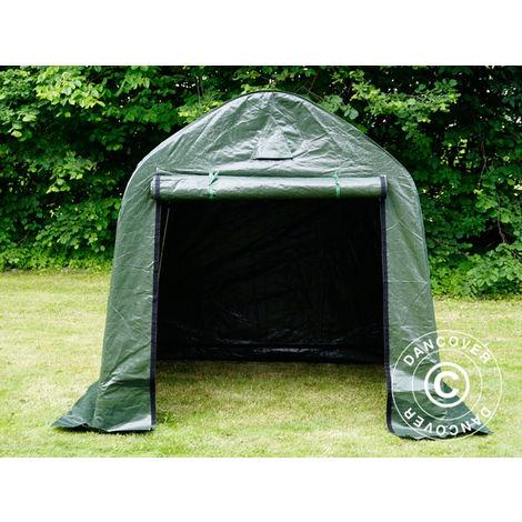 Storage tent Portable garage PRO 2x2x2 m PE, Green