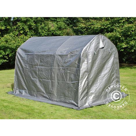 Storage tent Portable garage PRO 2x3x2 m PE, Grey