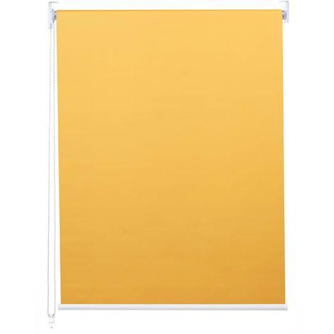Store à enrouleur pour fenêtres, HHG-247, avec chaîne, avec perçage, isolation, opaque, 40 x 160 ~ beige
