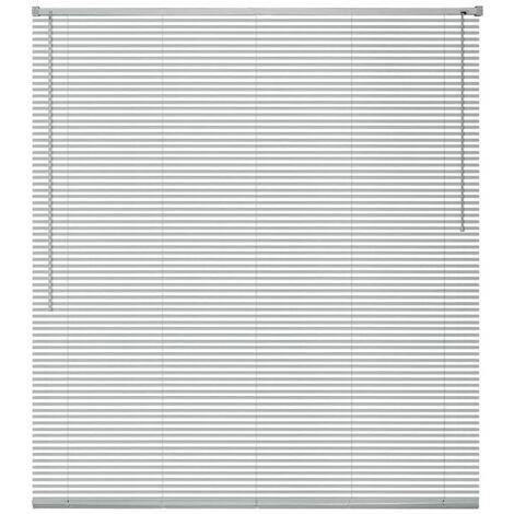 Store Aluminium 60 x 160 cm Argenté