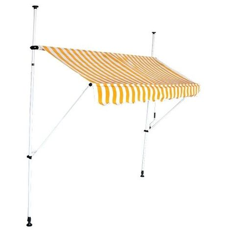 Store banne auvent avancée de toit rétractable manuel