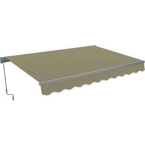 """Store banne en aluminium """"Ombra 3"""" - Taupe"""