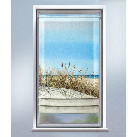 """Store bateau imprimé """"dune"""" Multicolore 60 x 120 cm"""