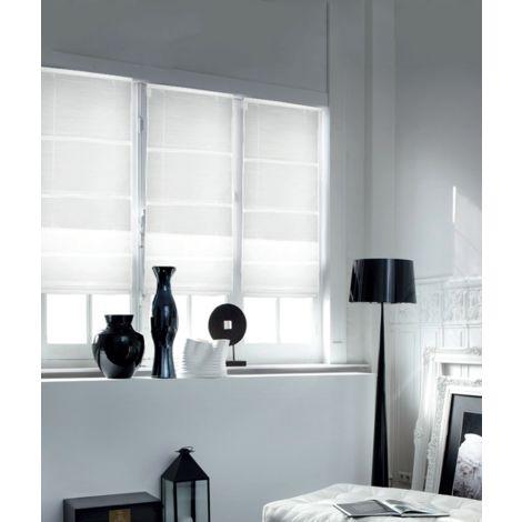 Store Bateau Voile Loft - Blanc - L120 x H180cm