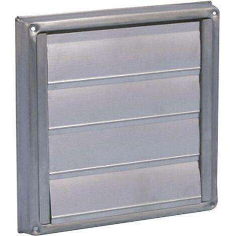 Store de ventilation Wallair N34845 10 cm acier inoxydable