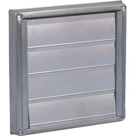 Store de ventilation Wallair N34853 12.5 cm acier inoxydable