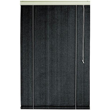 Store d'ombrage 120 x H 180 cm Ardoise - 165g/m²