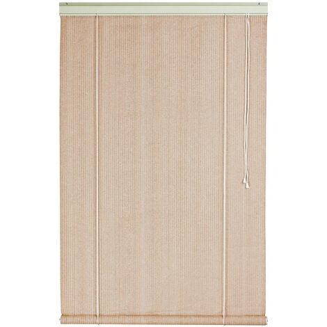 Store d'ombrage 120 x H 180 cm Sable - 165g/m²