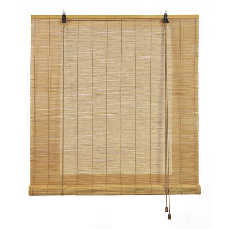 Store en Bambou, store enrouleur en bambou naturel