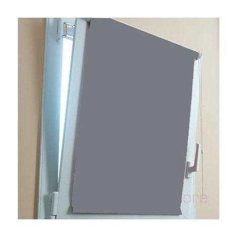 Store enrouleur 100% occultant Gris 250cm de 59 a 86 cm