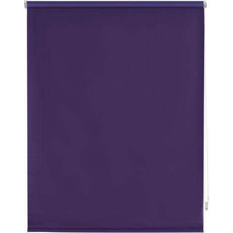 Store enrouleur 100% opaque, Violet