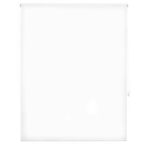 Store enrouleur 180X175 BLANC Fixation au mur ou au plafond