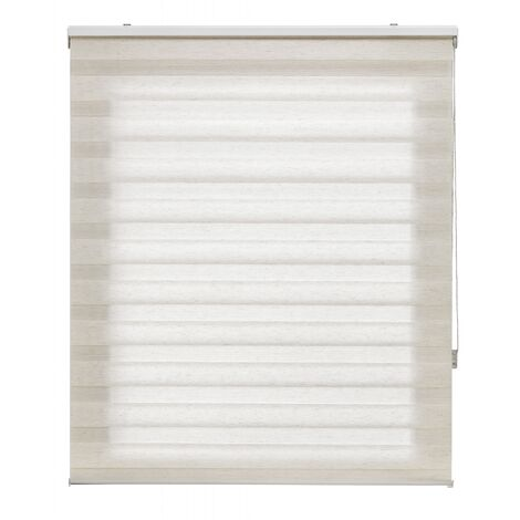 Store enrouleur 180X180 BRUT Fixation Nuit et Jour Mur ou Plafond