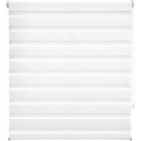 Store enrouleur adaptable occultant blanc 116 x 175 cm - Blanc