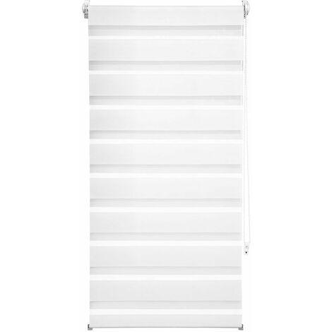 Store enrouleur adaptable occultant blanc 60 x 120 cm - Blanc