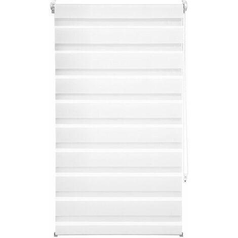 Store enrouleur adaptable occultant blanc 70 x 120 cm - Blanc