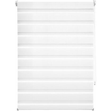 Store enrouleur adaptable occultant blanc 90 x 150 cm - Blanc