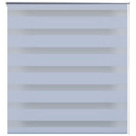 Store enrouleur blanc tamisant 50 x 100 cm fenêtre rideau pare-vue volet roulant - Blanc