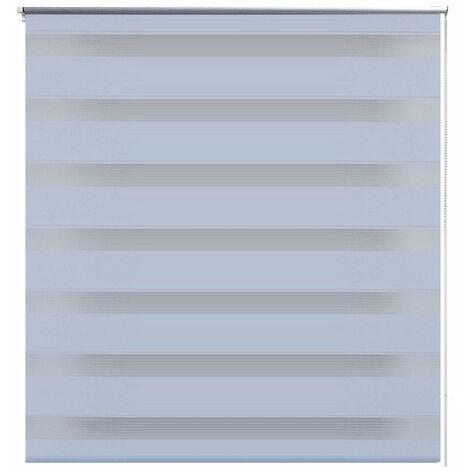 Store enrouleur blanc tamisant 70 x 120 cm fenêtre rideau pare-vue volet roulant - Blanc