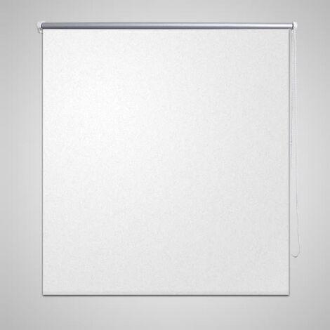 Store enrouleur occultant 100 x 175 cm blanc
