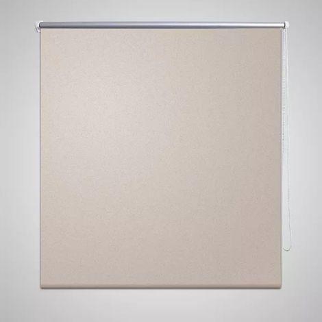 Store enrouleur occultant 80 x 175 cm beige