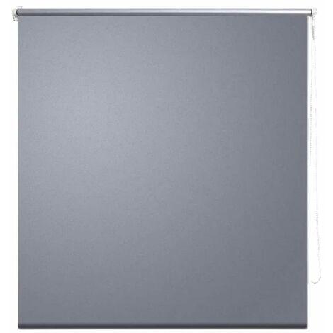 Store enrouleur occultant 80 x 175 cm gris