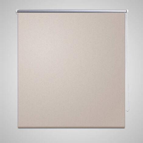 Store enrouleur occultant 80 x 230 cm beige