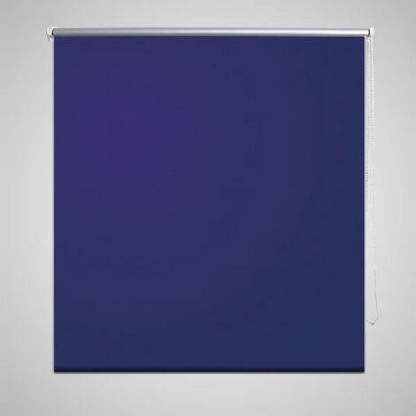 Store enrouleur occultant bleu 60 x 120 cm