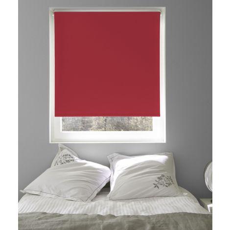 Store Enrouleur Occultant Uni Rouge