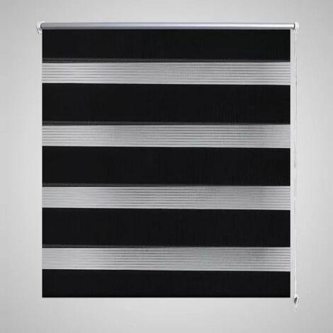 Store enrouleur tamisant 90 x 150 cm noir