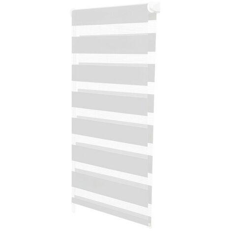 store enrouleur z br jour nuit 60 x 170 cm blanc 13001. Black Bedroom Furniture Sets. Home Design Ideas