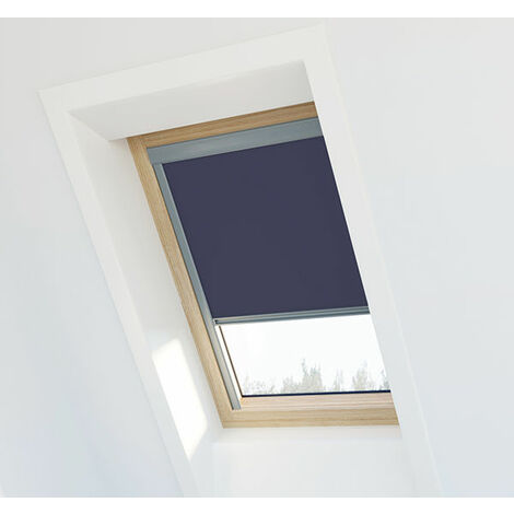 Store occultant Beige pour Velux ® SK08 - Ossature grise - Beige