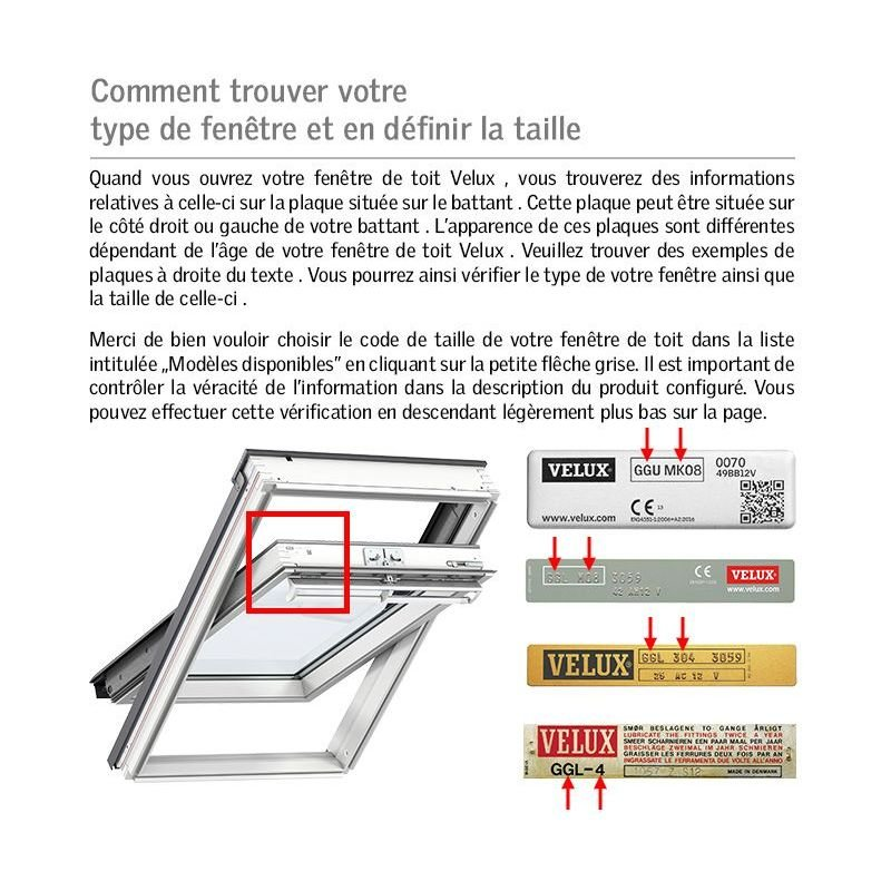Store Occultant Pour Fenêtre De Toit Velux Pour Ggl Gfl Gzl C02
