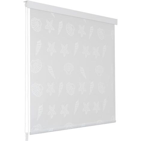 Store roulant de douche 180 x 240 cm Étoile de mer