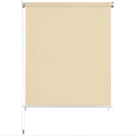 store roulant d 39 ext rieur 300 x 230 cm couleur cr me 43457. Black Bedroom Furniture Sets. Home Design Ideas