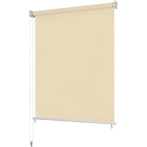 Store roulant d'extérieur 400 x 140 cm Couleur crème