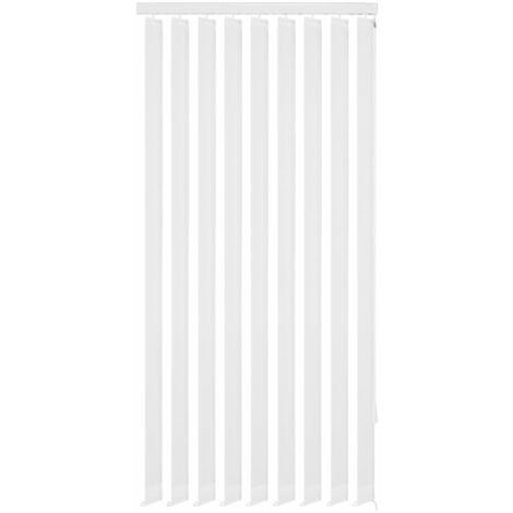 Store vertical 120 x 250 cm Tissu Blanc