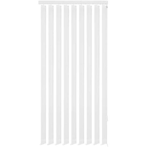 Store vertical 150 x 250 cm Tissu Blanc